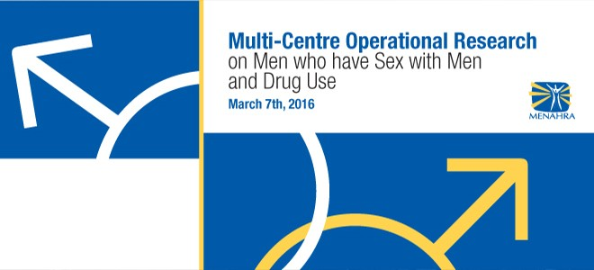 Multi- Centre Operational Research on Men Who Have Sex with Men and Drug Use